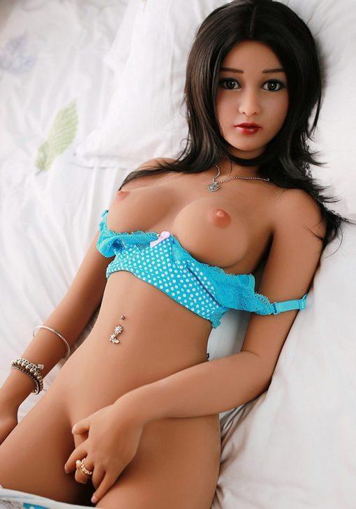 Samantha 157cm AA cup tpe love doll