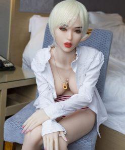 Aoki 165cm E cup Gray hair love dolls