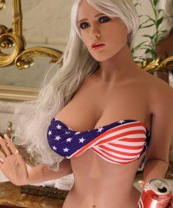 Gail 165cm B Cup Super Realistic Sex Doll