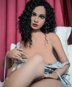 Sabrina 160cm E cup Black Curls Love Doll