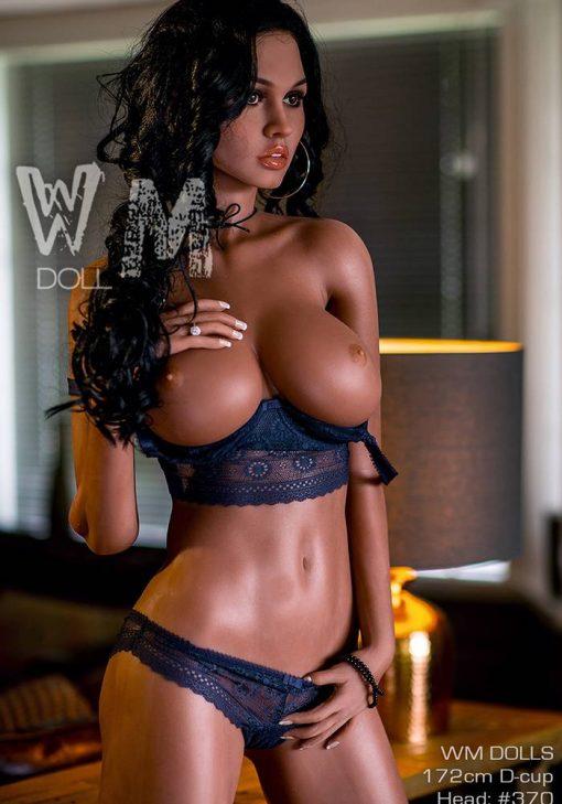 Eunice 172cm D Cup Black Sex Doll