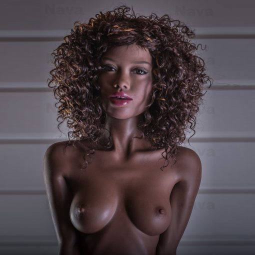 Zoe 168cm A Cup Black Sex Doll
